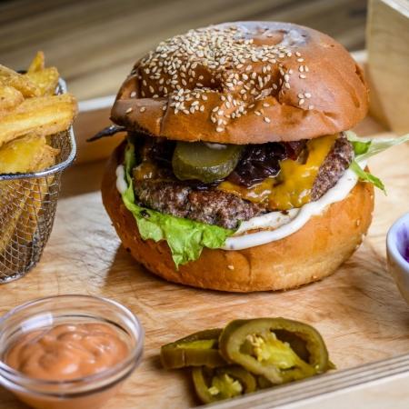 Bárány burger